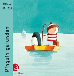 """Cover """"Pinguin gefunden"""" © Aufbau-Verlag"""