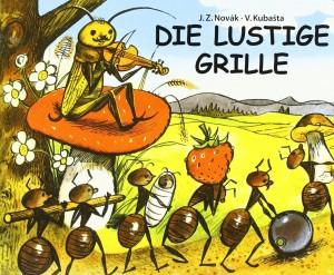 "Cover ""Die lustige Grille"" © leiv Leipziger Kinderbuchverlag"