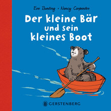 """Cover """"Der kleine Bär und sein kleines Boot """" © Gerstenberg"""