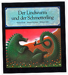 """Cover """"Der Lindwurm und der Schmetterling"""" © Manfred Schlueter"""
