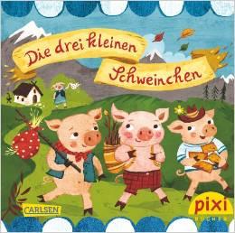 """Cover """"Die drei kleinen Schweinchen"""" © Carlsen Verlag"""