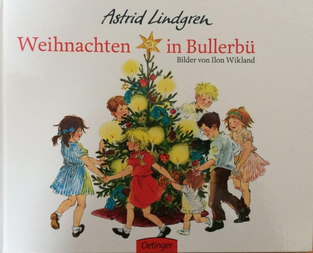 """Cover """"Weihnachten in Bullerbü"""", Oetinger 2012"""