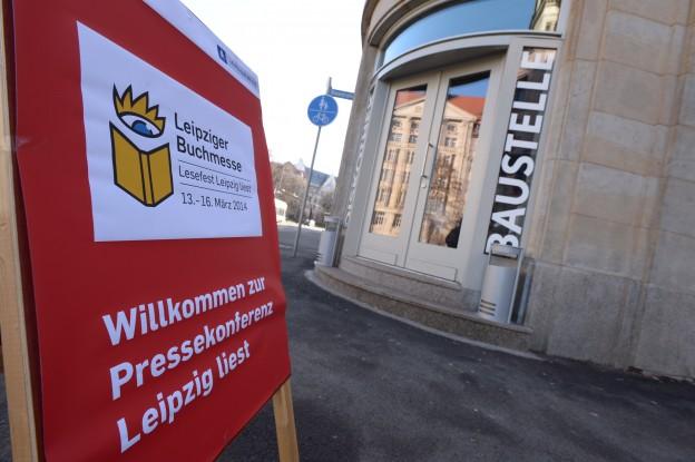 PK Leipziger Buchmesse 2014, Schauspielhaus