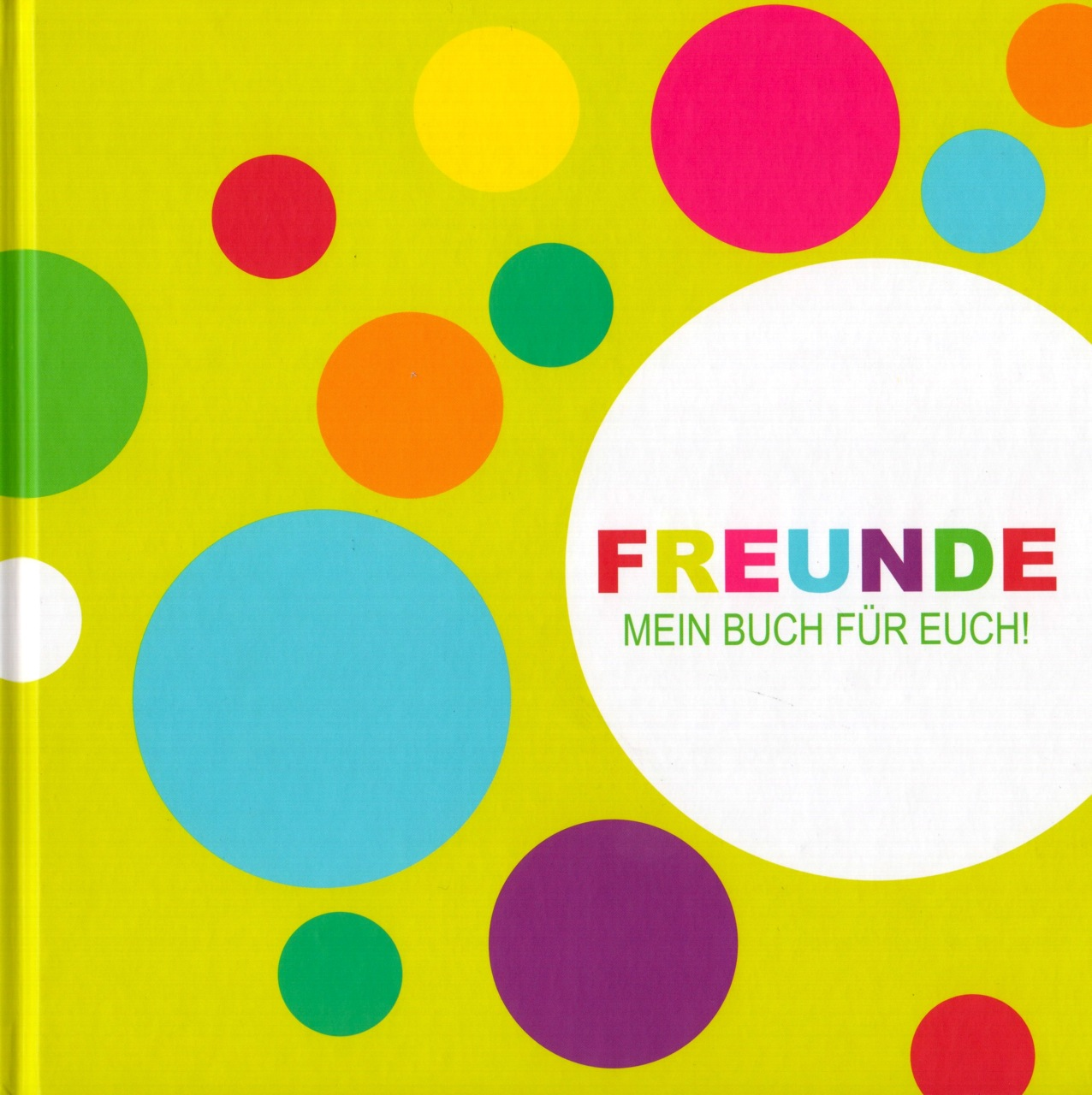Cover Freundebuch
