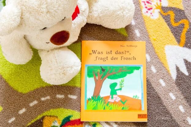 """""""Was ist das?"""", fragt der Frosch Beltz und Gelberg"""