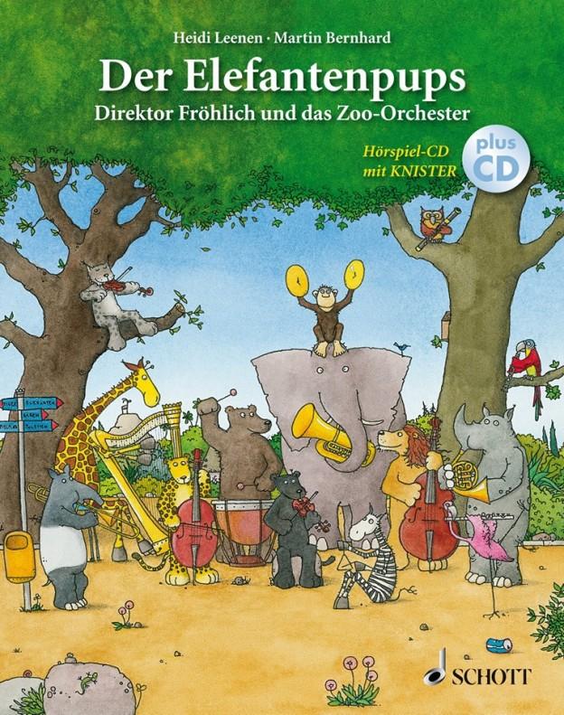 Cover Der Elefantenpups Schott Music