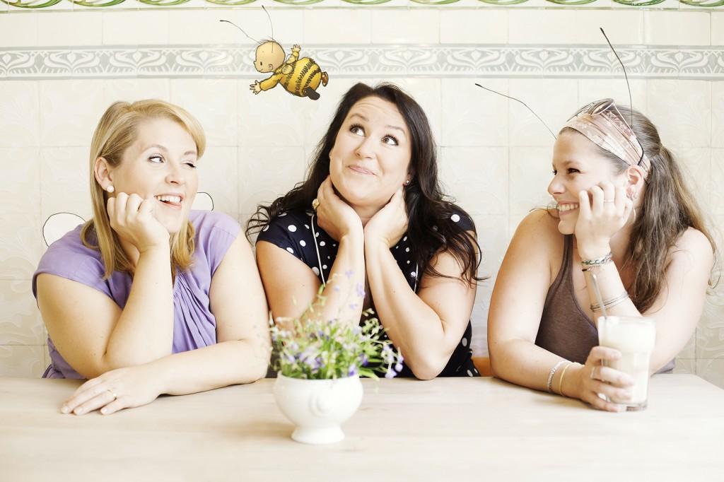 Maite Kelly, Britta Sabbag und JoëlleTourlonias © Beatrice Treydel