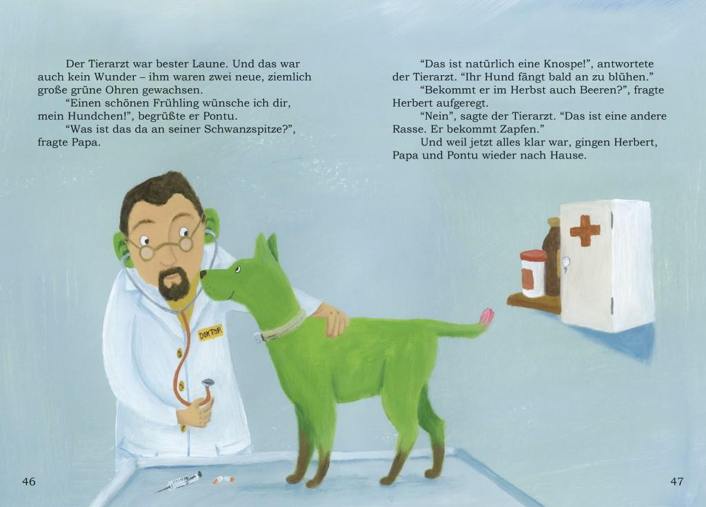 """Auszug aus """"Der bunte Hund"""""""