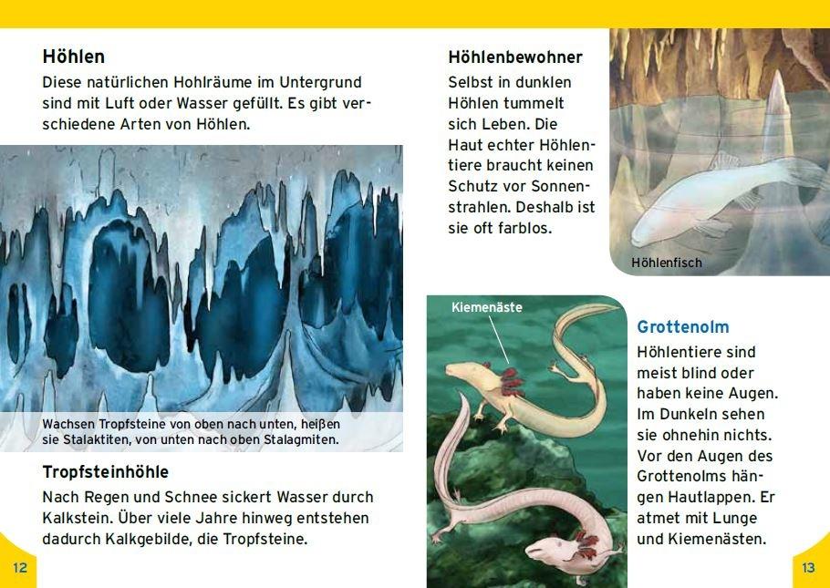 Spannende Eindrücke für kleine Höhlenforscher, © Kinderleicht Wissen Verlag
