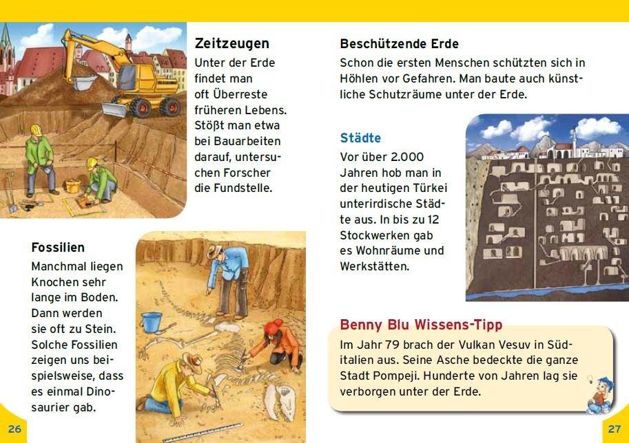 Unter der Erde finden sich Überreste früheren Lebens, © Kinderleicht Wissen Verlag