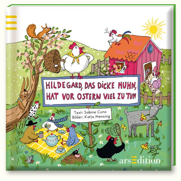 Cover Hildegard das dicke Huhn c arsedition
