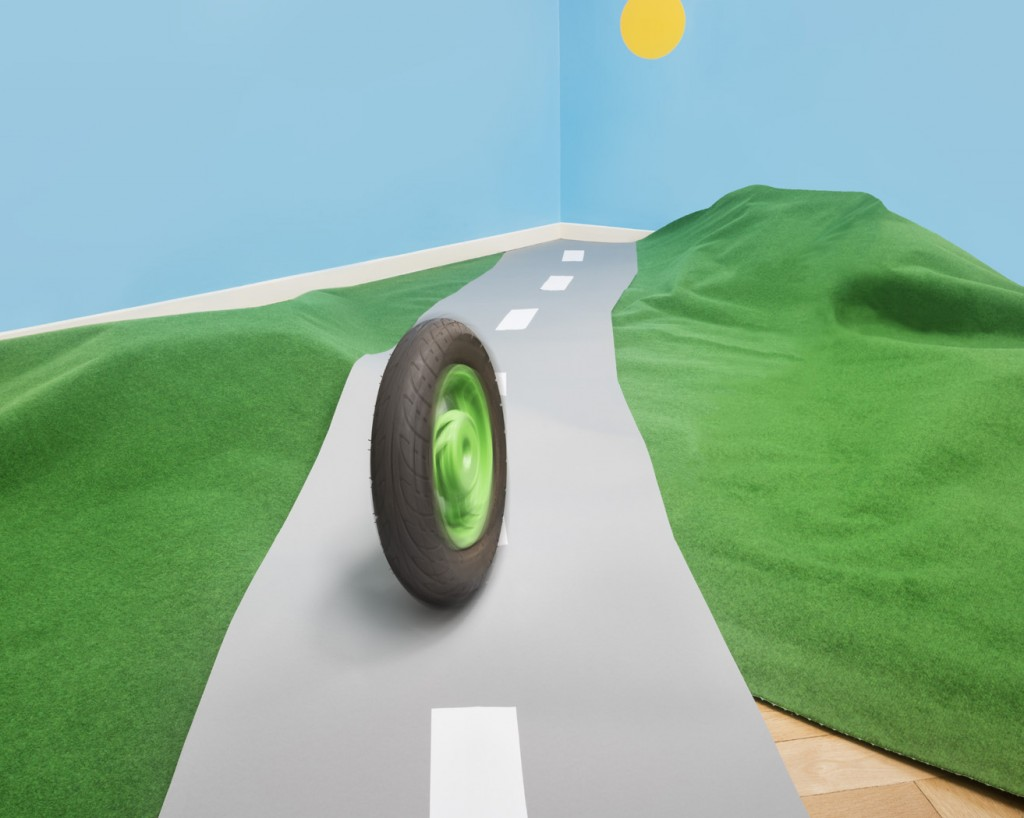 Das Rad kommt ins Rollen, © Eyal Pinkas und Aïcha Funk-Pinkas