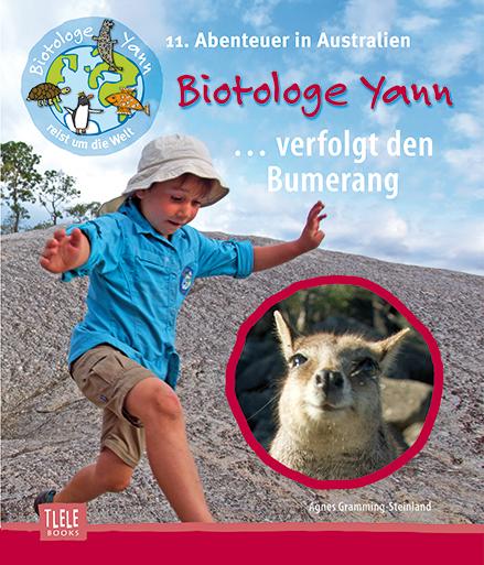 Cover Biotologe Yann verfolgt den Bumerang