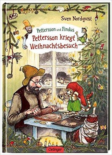 Pettersson kriegt Weihnachtsbesuch, Coverbild