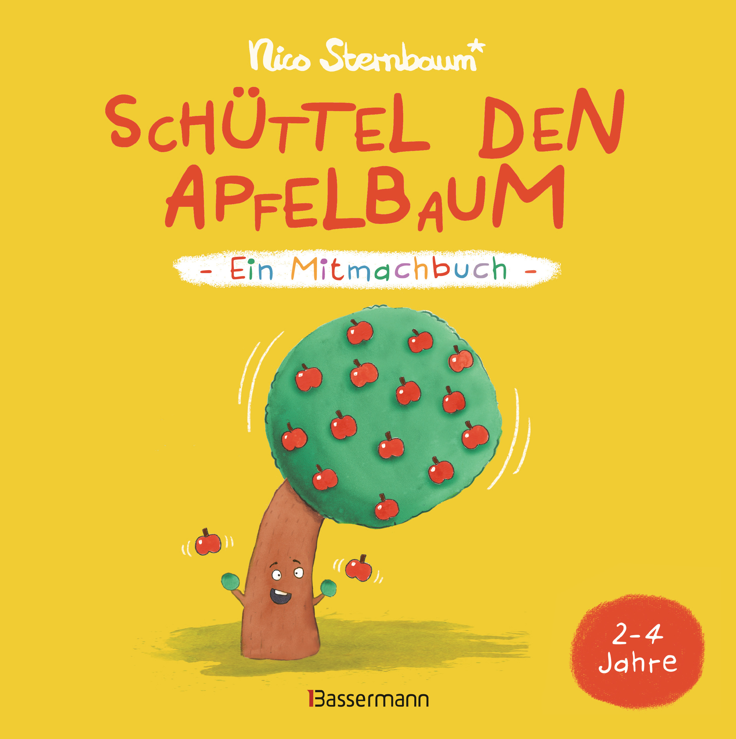 Cover: Schüttel den Apfelbaum von Nico Sternbaum