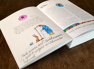 Ein ganz persönliches Jahrbuch zum Gestalten für Kinder von 7 bis 11 Jahren.